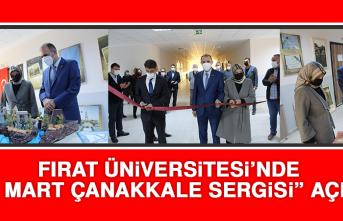 """Fırat Üniversitesi'nde """"18 Mart Çanakkale Sergisi"""" Açıldı"""