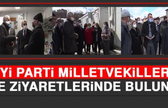 İYİ Parti Milletvekilleri, İlçe Ziyaretlerinde Bulundu!