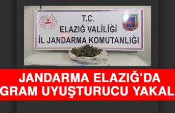 Jandarma, Elazığ'da 765 Gram Uyuşturucu Yakaladı