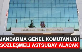 Jandarma Genel Komutanlığı Sözleşmeli Astsubay Alacak