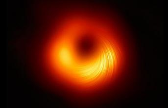 Kara Deliğin Etrafındaki Manyetik Alan İlk Defa Görüntülendi