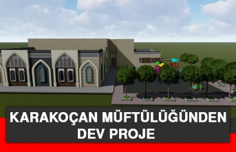 Karakoçan Müftülüğünden Dev Proje