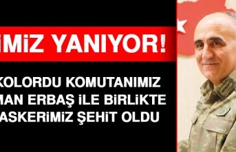 Kolordu Komutanımız Osman Erbaş ile Birlikte 11 Askerimiz Şehit Oldu!