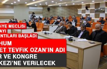 Merhum Ahmet Tevfik Ozan'ın Adı Fuar ve Kongre Merkezine Verilecek