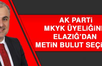 Milletvekili Metin Bulut AK Parti MKYK Üyesi Oldu