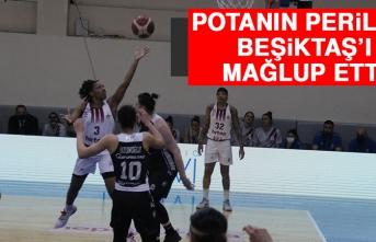 Potanın Perileri Beşiktaş'ı Mağlup Etti