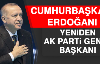 Recep Tayyip Erdoğan, Yeniden AK Parti Genel Başkanı