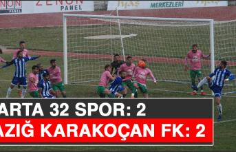 Isparta 32 Spor: 2 - Elazığ Karakoçan FK: 2