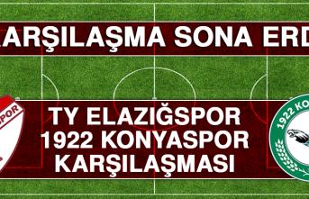 Tetiş Yapı Elazığspor – 1922 Konyaspor Karşılaşması