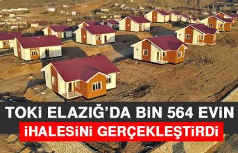 TOKİ Elazığ'da Bin 564 Evin İhalesini Gerçekleştirdi