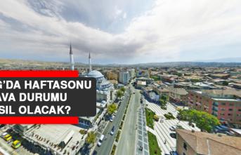 10 Nisan'da Elazığ'da Hava Durumu Nasıl Olacak?