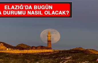 15 Nisan'da Elazığ'da Hava Durumu Nasıl Olacak?