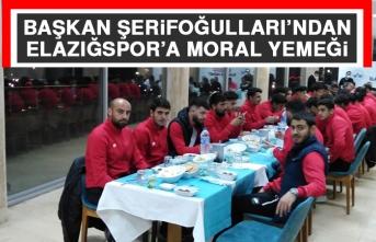 Başkan Şerifoğulları'ndan Elazığspor'a Moral Yemeği