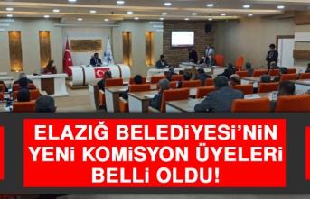 Elazığ Belediyesi'nin Yeni Komisyon Üyeleri Seçildi