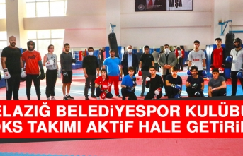 Elazığ Belediyespor Kulübü Boks Takımı Aktif Hale Getirildi