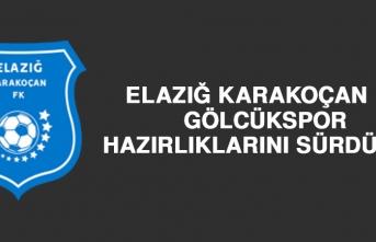 Elazığ Karakoçan FK, Gölcükspor Hazırlıklarını Sürdürdü
