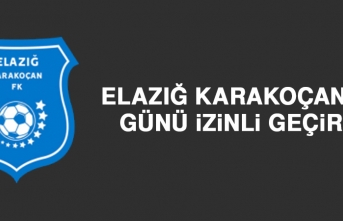 Elazığ Karakoçan FK, Günü İzinli Geçirdi