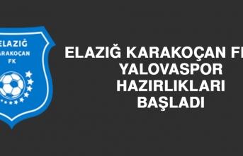 Elazığ Karakoçan FK'da Yalovaspor Hazırlıkları Başladı