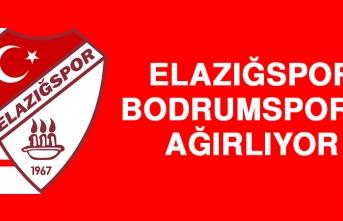 Elazığspor, Bodrumspor'u Ağırlıyor