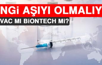 Hangi Aşıyı Olmalıyız? Sinovac mı BioNtech mi?