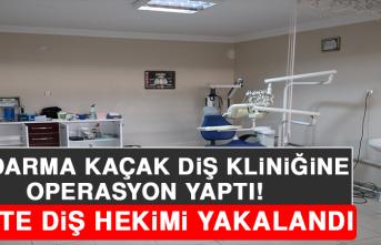 Jandarma Kaçak Diş Kliniğine Operasyon Yaptı, Sahte Diş Hekimi Yakalandı!