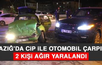 Kazada 2 Kişi Ağır Yaralandı