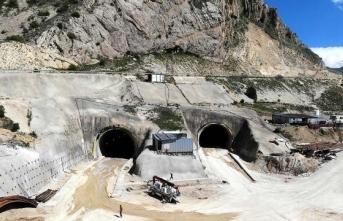 Kop Tüneli önümüzdeki yıl hizmete açılacak