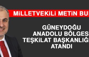 Milletvekili Bulut Güneydoğu Anadolu Bölgesi Teşkilat Başkanlığına Atandı