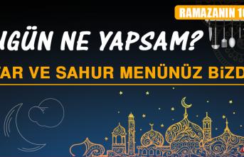 Ramazanın Onuncu Gününde Elazığlılara Özel Menü