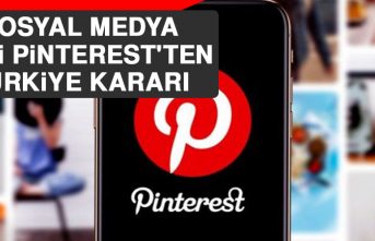 Sosyal Medya Devi Pinterest'ten Türkiye Kararı