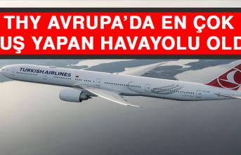 THY Avrupa'da En Çok Uçuş Yapan Havayolu Oldu
