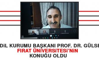 Türk Dil Kurumu Başkanı Prof. Dr. Gülsevin Fırat Üniversitesi'nin Konuğu Oldu