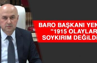 Yentür: 1915 Olayları Soykırım Değildir!