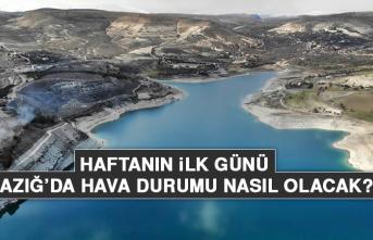 10 Mayıs'ta Elazığ'da Hava Durumu Nasıl Olacak?