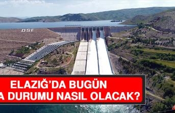 31 Mayıs'ta Elazığ'da Hava Durumu Nasıl Olacak?