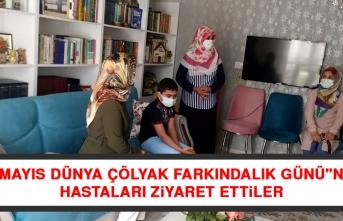 """""""9 Mayıs Dünya Çölyak Farkındalık Günü""""nde Hastaları Ziyaret Ettiler"""