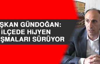 Başkan Gündoğan: İlçede Hijyen Çalışmaları Sürüyor