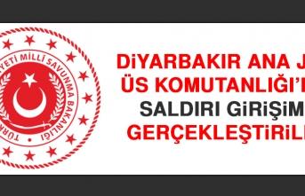 Diyarbakır Ana Jet Üs Komutanlığı'na Saldırı Girişimi Gerçekleştirildi