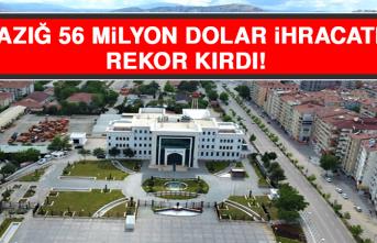 Elazığ 56 Milyon Dolar İhracatla Rekor Kırdı