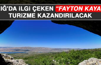 """Elazığ'da Görünümü ve Manzarasıyla İlgi Çeken """"Fayton Kayalar"""" Turizme Kazandırılacak"""