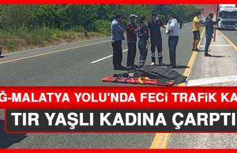 Elazığ-Malatya Yolu'nda Feci Trafik Kazası