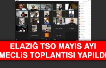 Elazığ TSO Mayıs Ayı Meclis Toplantısı Yapıldı