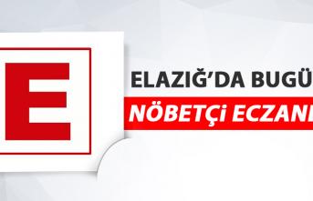 Elazığ'da 5 Mayıs'ta Nöbetçi Eczaneler