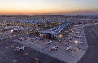 İstanbul Havalimanı 633 uçuşla Avrupa'da zirveyi koruyor