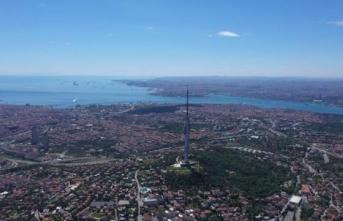"""İstanbul'un yeni simgesi """"Çamlıca Kulesi"""" cumartesi günü açılıyor"""