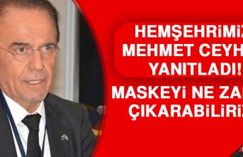 Mehmet Ceyhan Yanıtladı! Maskeyi Ne Zaman Çıkarabiliriz?