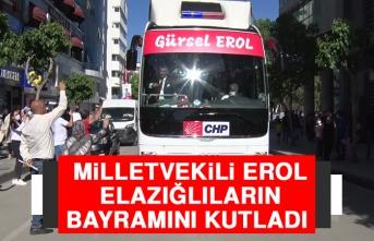 Milletvekili Erol, Elazığlıların Bayramını Kutladı