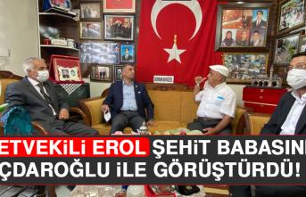 Milletvekili Erol Şehit Babasını Kılıçdaroğlu İle Görüştürdü