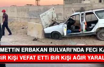 Necmettin Erbakan Bulvarı'nda Feci Kaza