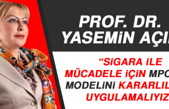 Prof. Dr. Yasemin Açık: Sigara İle Mücadele İçin Mpower Modelini Kararlılıkla Uygulamalıyız